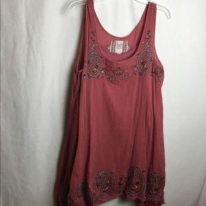 Chelsea & Violet embroidered dress